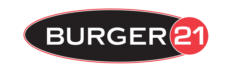Burger 21 Logo Design