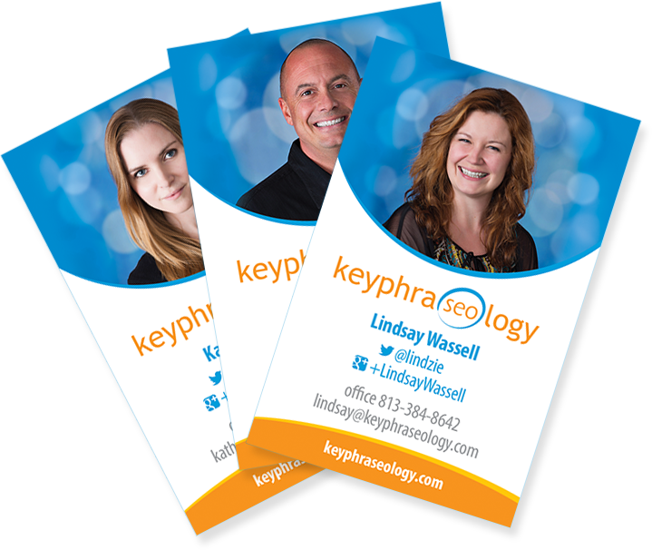 Keyphraseology Business Cards